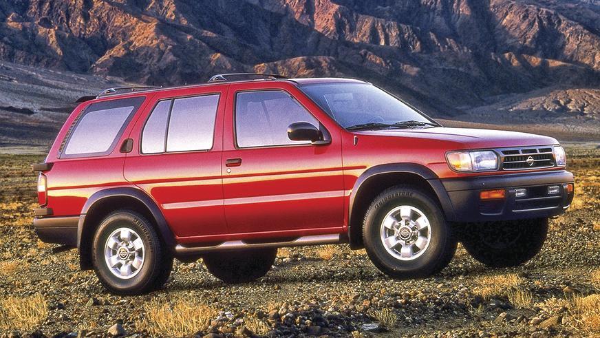 1996 год: Nissan Pathfinder второго поколения