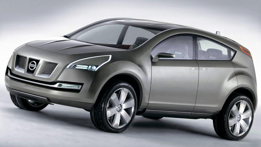 2004 год: Nissan Qashqai Concept