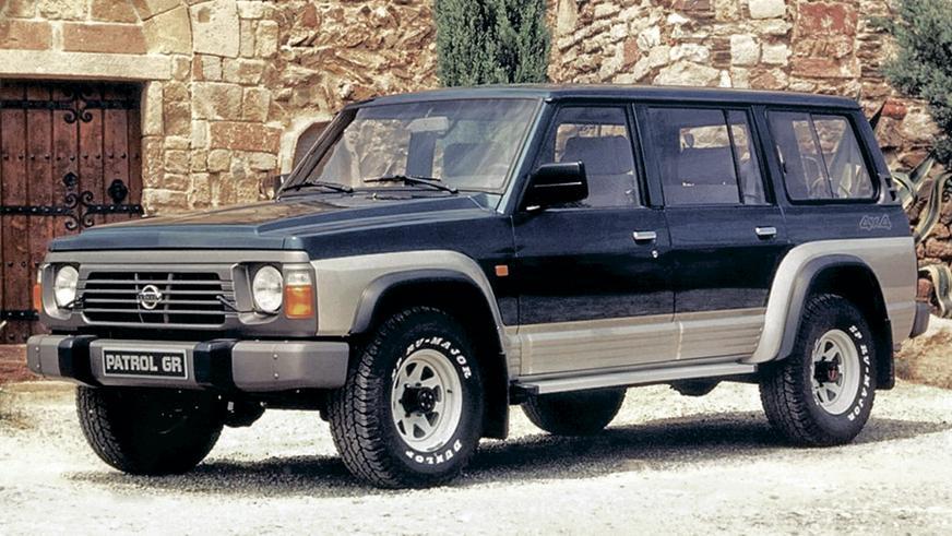 1987 год: Nissan Patrol четвёртого поколения