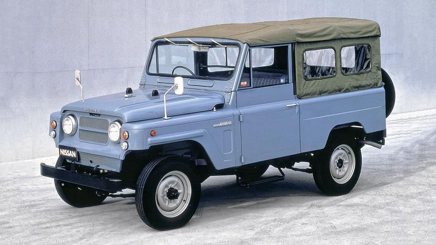 1960 год: Nissan Patrol второго поколения