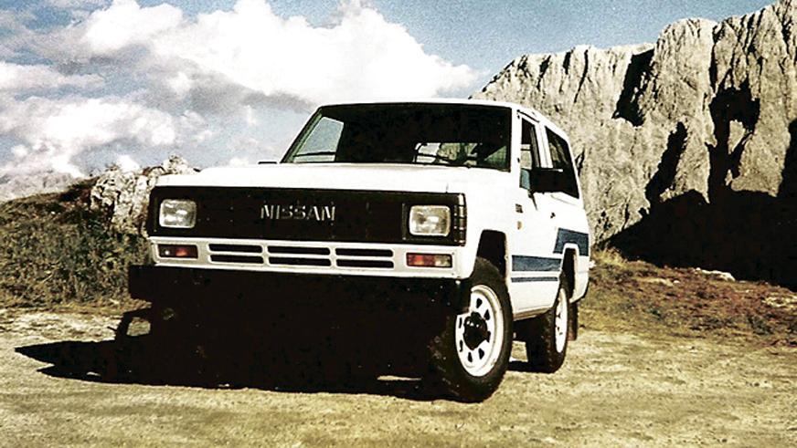1980 год: Nissan Patrol третьего поколения