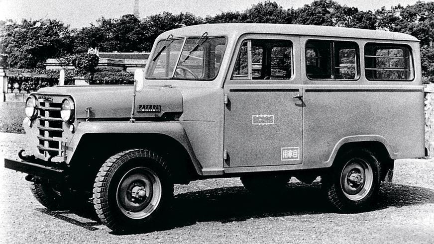 1958 год: Nissan Patrol Wagon первого поколения (G4W65)
