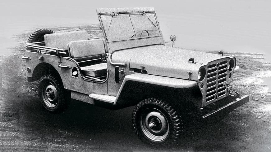 1951 год: Nissan Patrol первого поколения (4W60)
