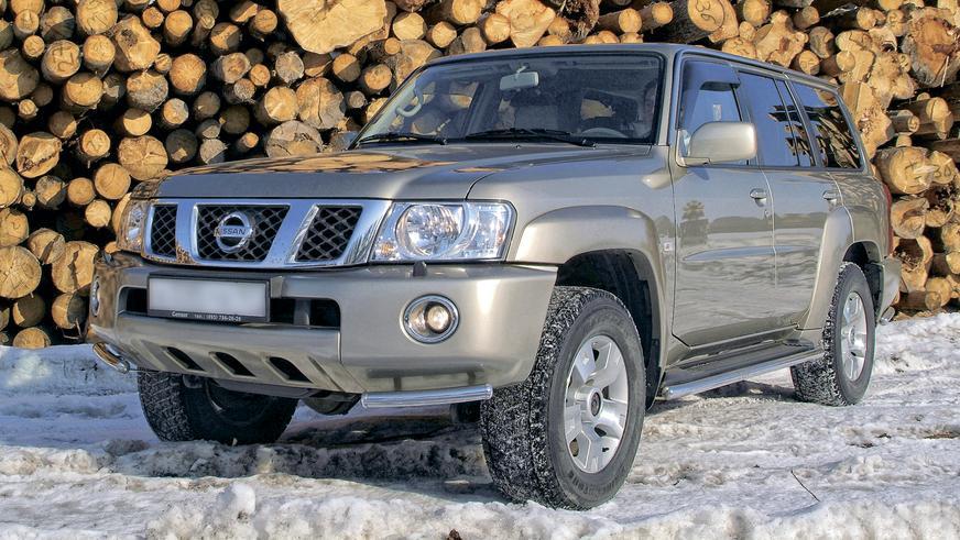 2004 год: Nissan Patrol пятого поколения (рестайлинг)