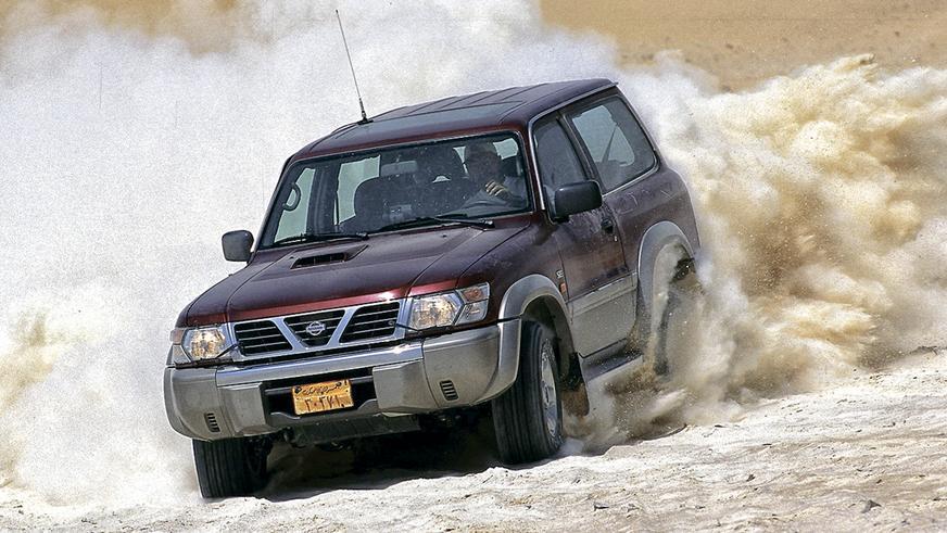 1997 год: Nissan Patrol пятого поколения