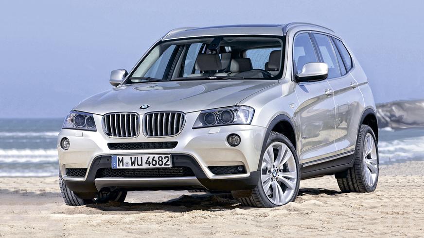 2010 год: BMW X3 второго поколения