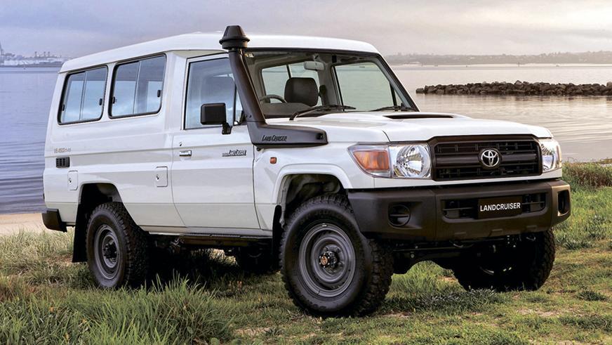 2007 год: Toyota Land Cruiser (J78)