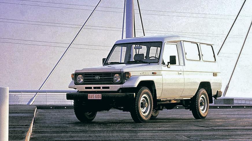 1990 год: Toyota Land Cruiser (J78)