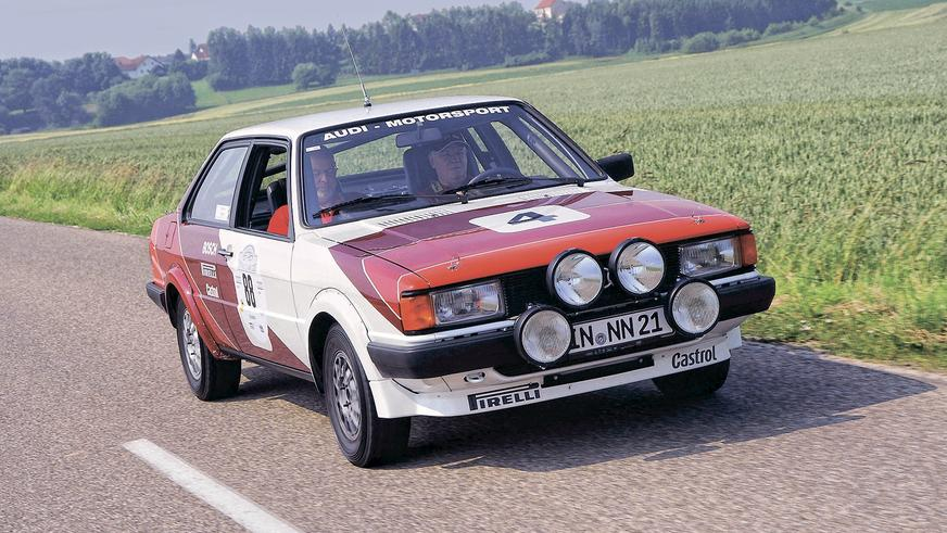 Audi 80 GLE Group 2 Rally Car (B2)