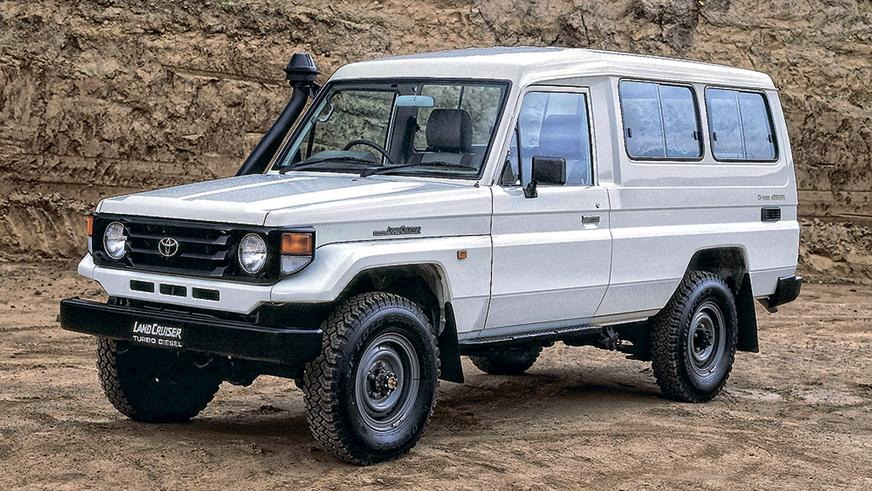 1999 год: Toyota Land Cruiser (J78)