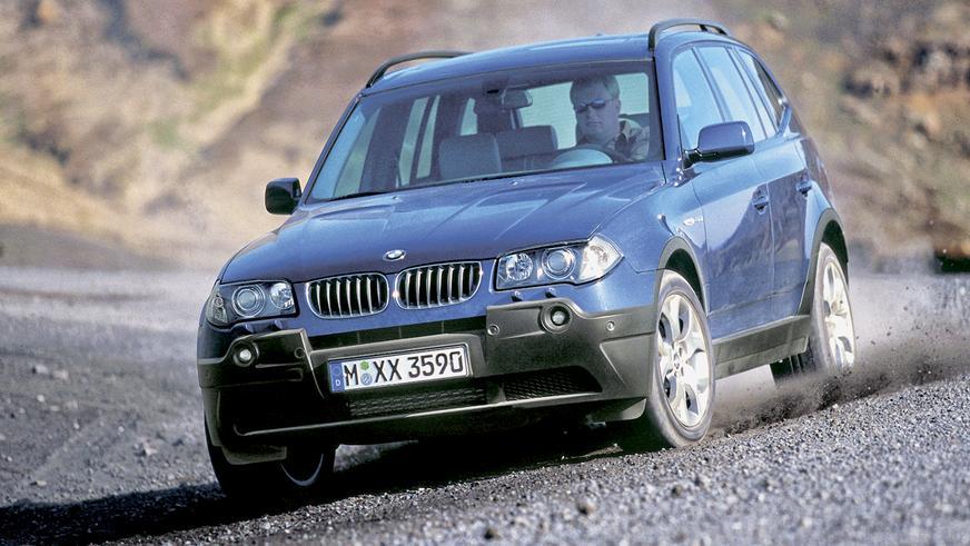 2004 год: BMW X3 первого поколения