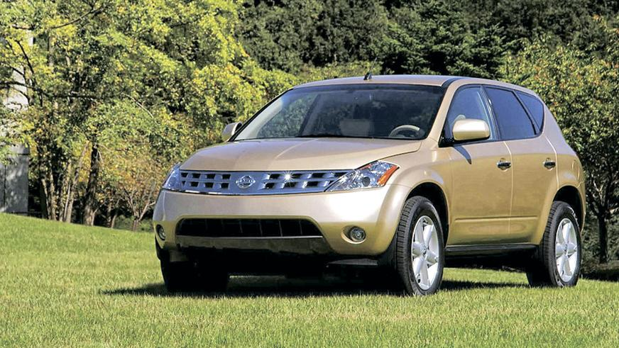 2003 год: Nissan Murano в кузове Z50