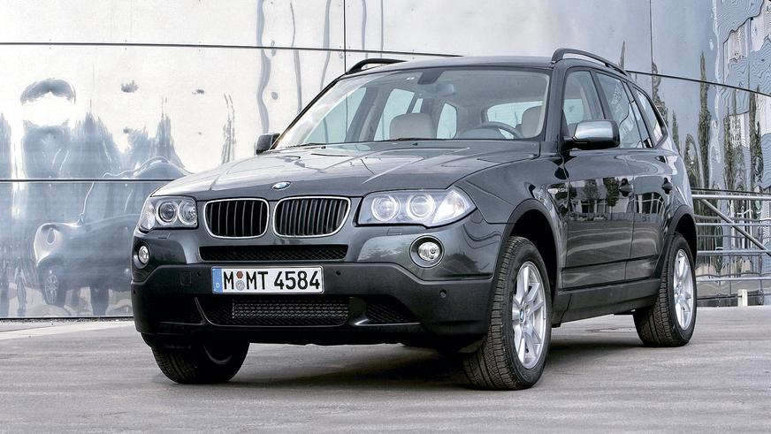 2006 год: BMW X3 первого поколения (рестайлинг)