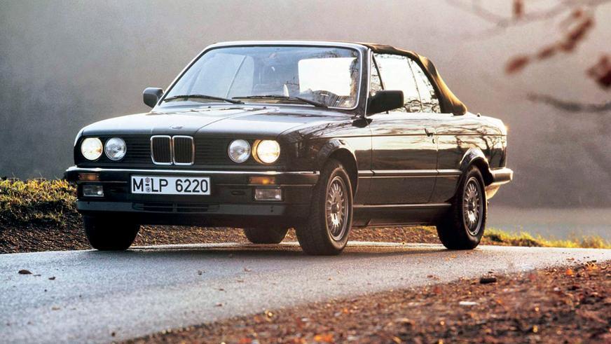 1985 год: BMW E30