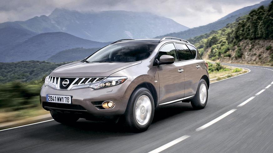 2008 год: Nissan Murano в кузове Z51