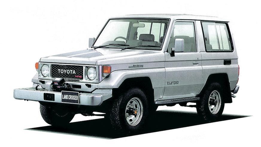 1985 год: Toyota Land Cruiser (BJ71V)