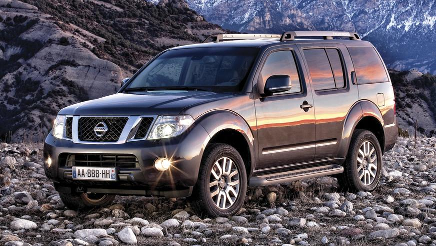 2010 год: Nissan Pathfinder (R51)