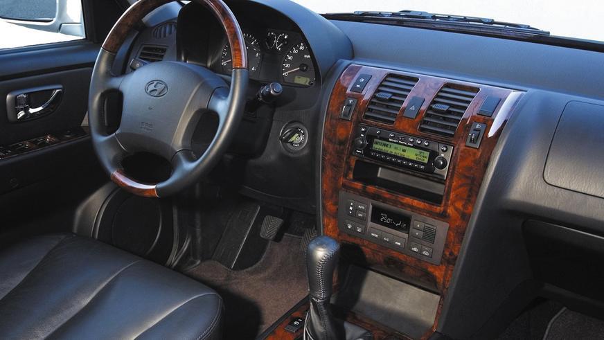 2001 год: Hyundai Terracan первого поколения