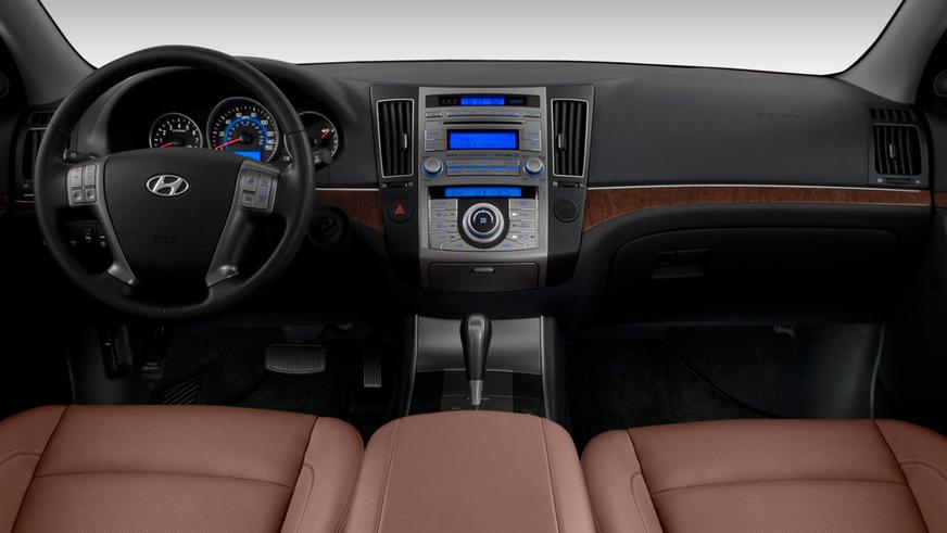2007 год: Hyundai Veracruz