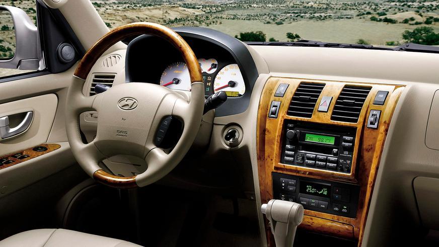 2004 год: Hyundai Terracan первого поколения (рестайлинг)