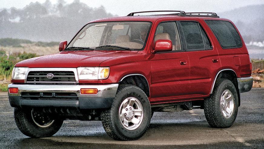 1996 год: Toyota 4Runner третьего поколения