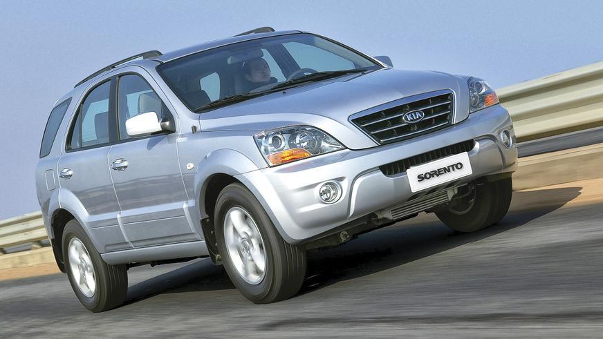 2006 год: Kia Sorento первого поколения (рестайлинг)