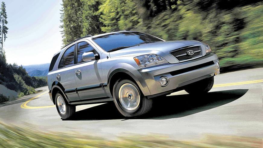 2002 год: Kia Sorento первого поколения