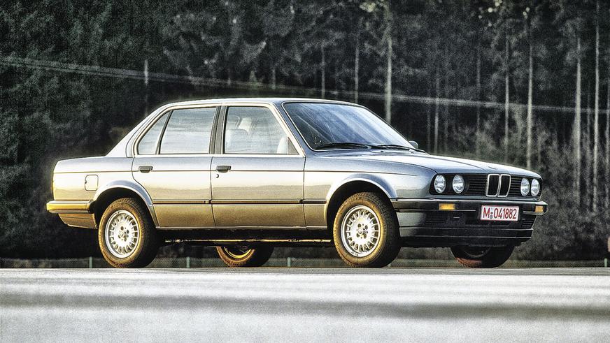 1982 год: BMW 3 серии в кузове Е30