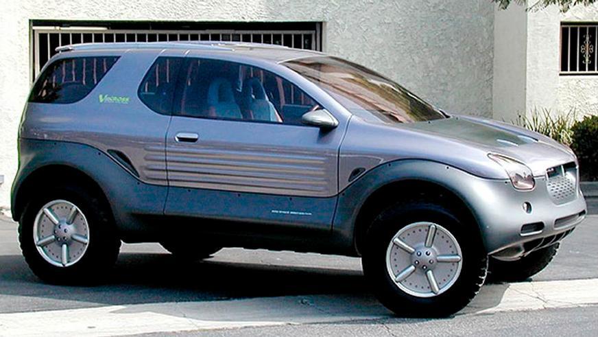 1993 год: Isuzu VehiCROSS Concept