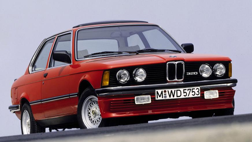 1975 год: BMW 3 серии в кузове Е21