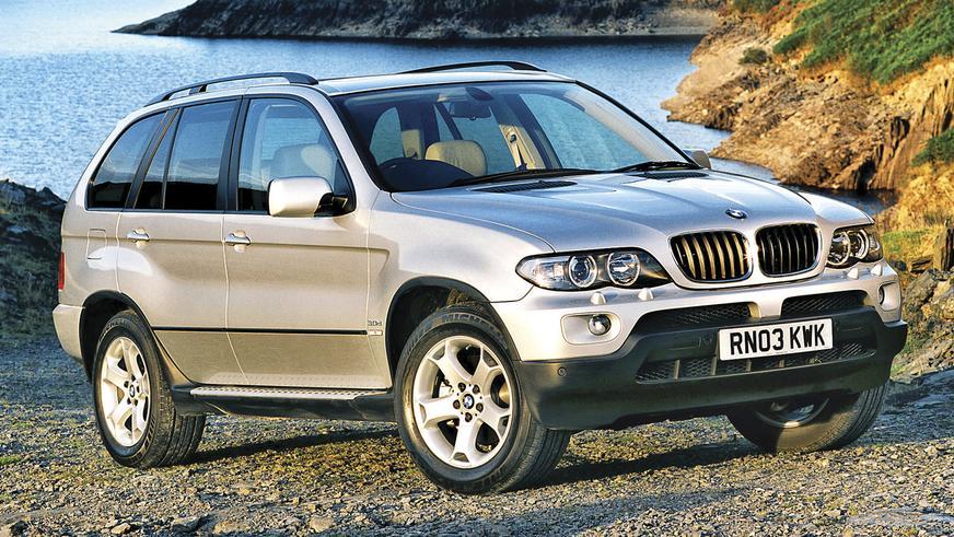 2003 год — BMW X5 первого поколения в кузове E53f (рестайлинг)