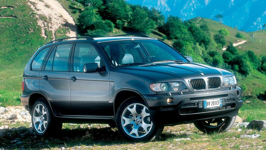 1999 год — BMW X5 первого поколения в кузове E53