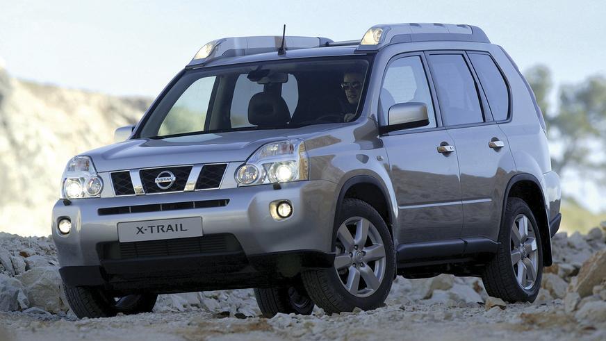 2007 год: Nissan X-Trail второго поколения (T31)