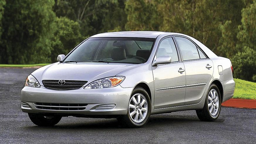 2001 год — Toyota Camry пятого поколения