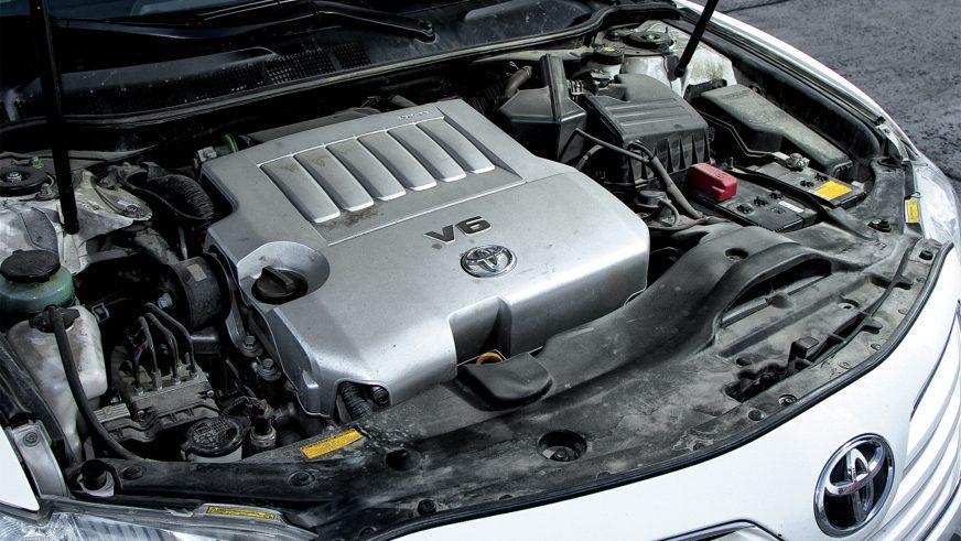 Toyota Camry XV40 - 2007 - двигатель