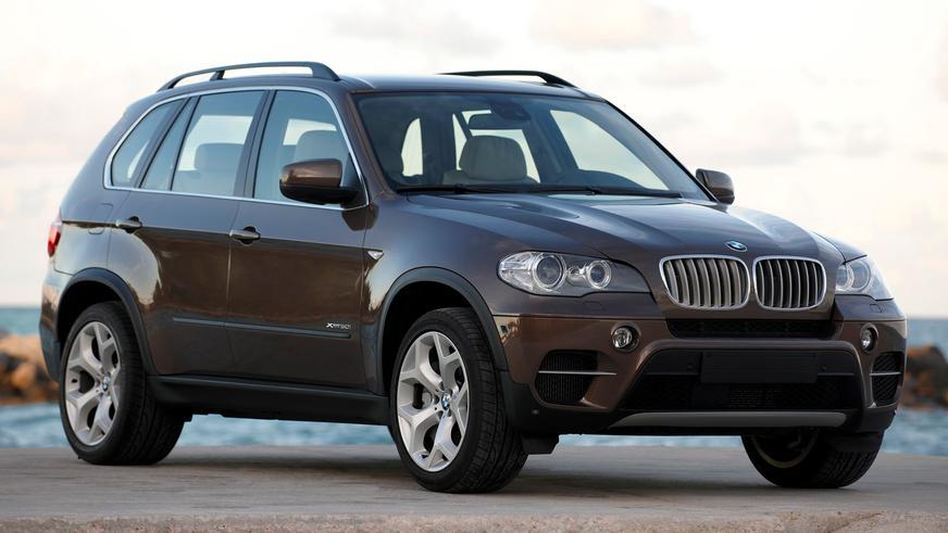 2010 год — BMW X5 второго поколения (E70 рестайлинг)