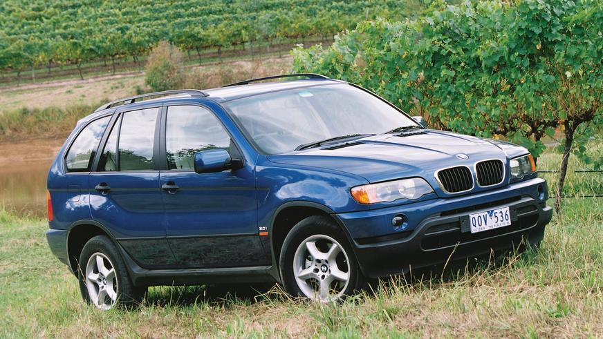 1999 год — BMW X5 первого поколения (E53)