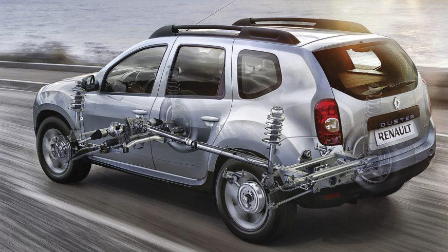 Renault Duster - 2011 -  трансмиссия