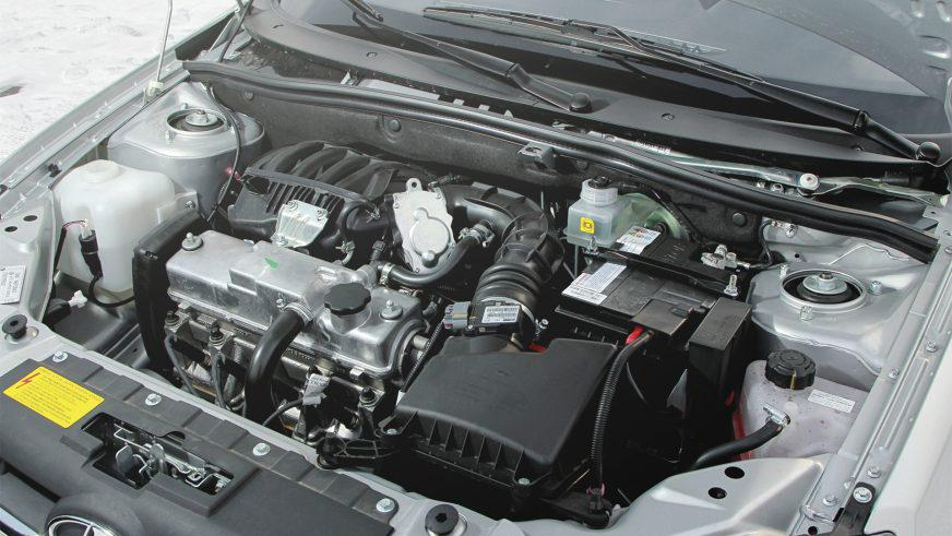Lada Granta - 2011 - двигатель