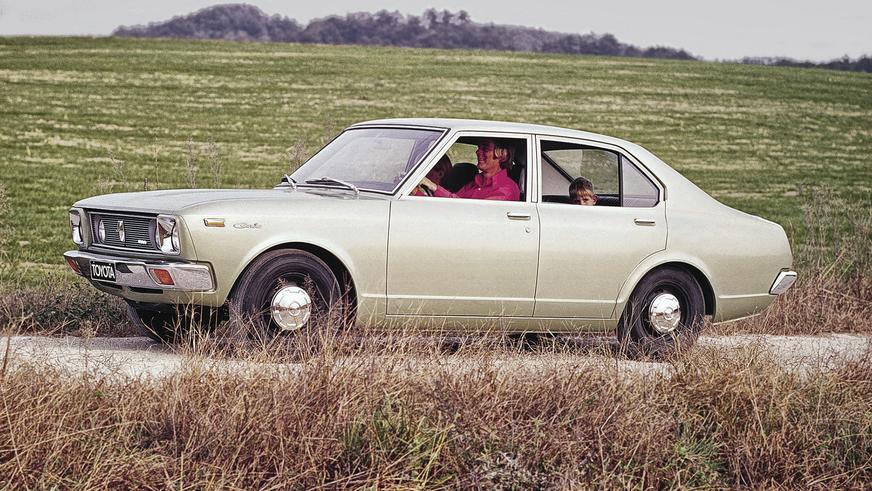 1970 год - Toyota Carina