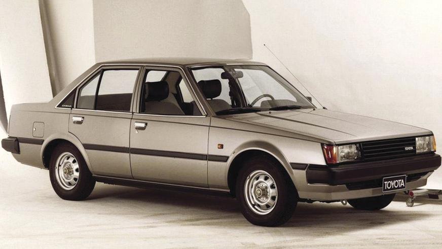 1981 год - Toyota Carina