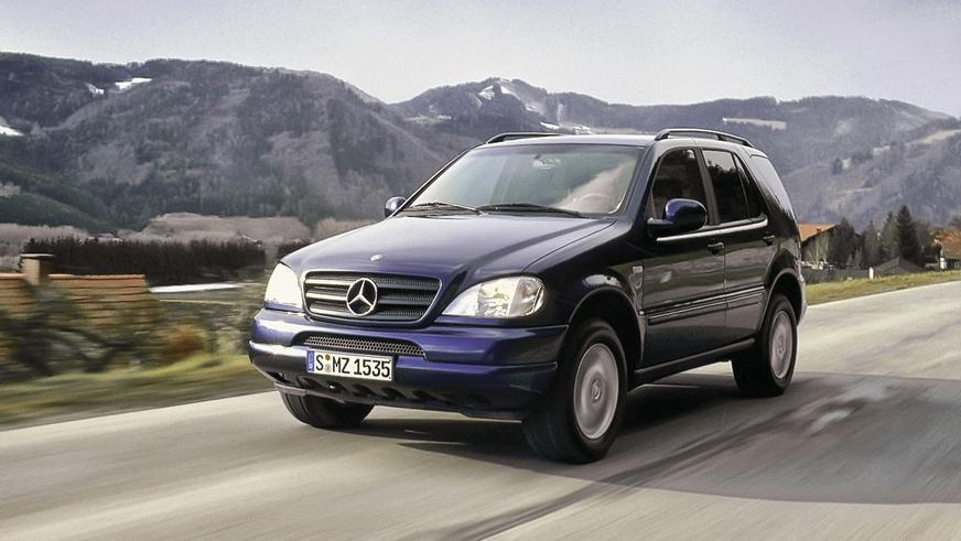 1997 год: Mercedes-Benz ML первого поколения (W163)