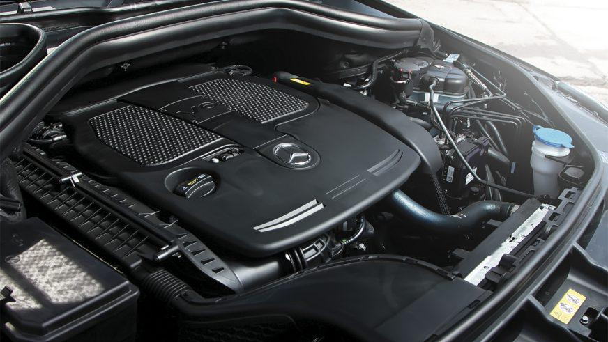 Mercedes-Benz ML 350 - 2012 - двигатель