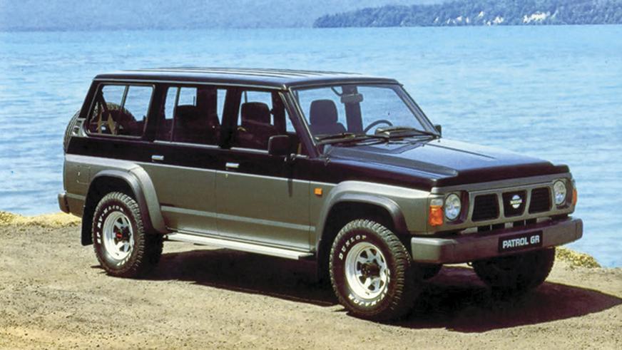 1987 год - Nissan Patrol четвёртого поколения