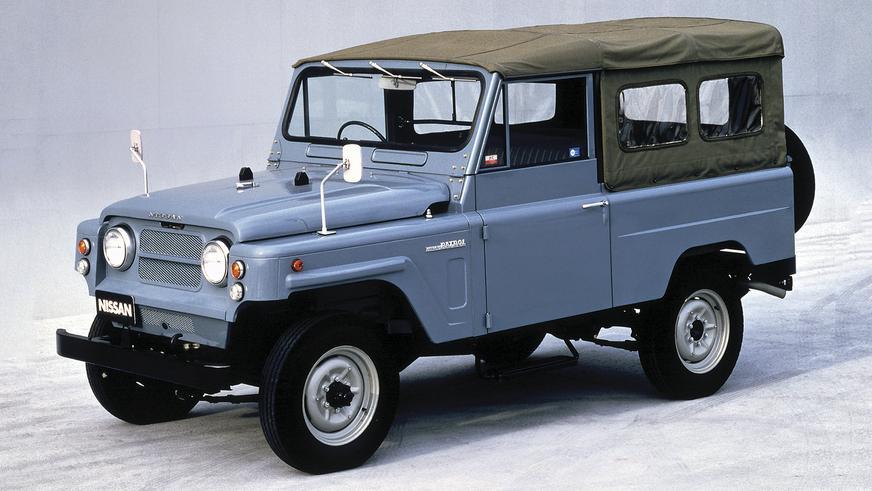 1960 год - Nissan Patrol второго поколения