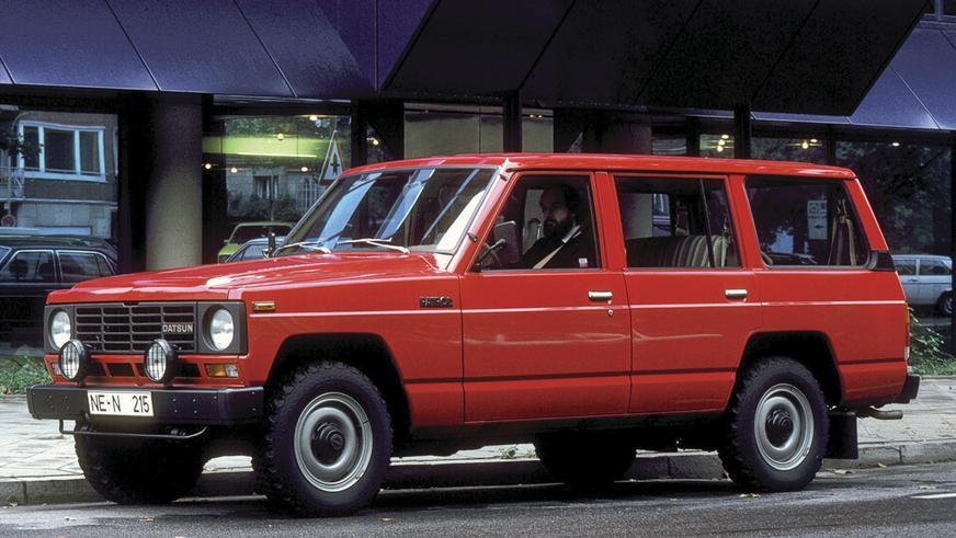 1980 год - Nissan Patrol третьего поколения
