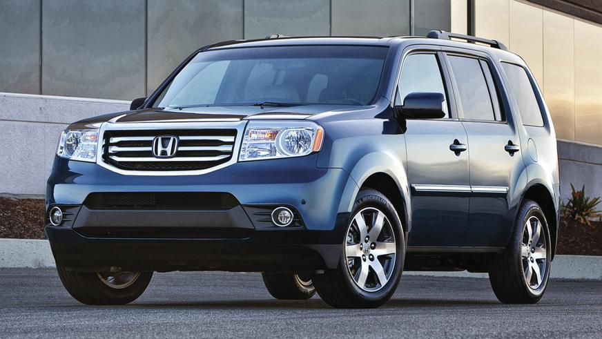 2011 год - Honda Pilot второго поколения (рестайлинг)