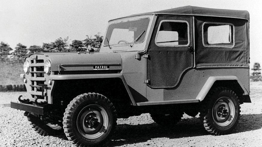 1951 год - Nissan Patrol первого поколения