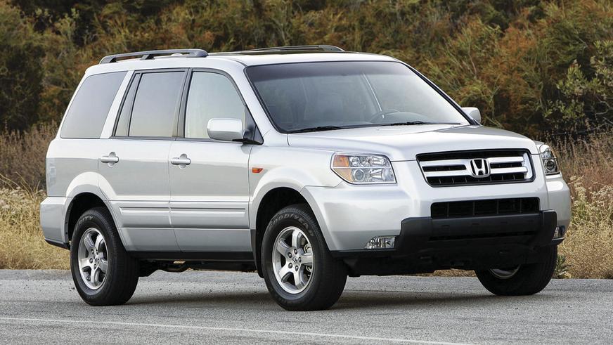 2006 год - Honda Pilot первого поколения (рестайлинг)