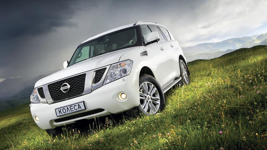 2010 год - Nissan Patrol шестого поколения